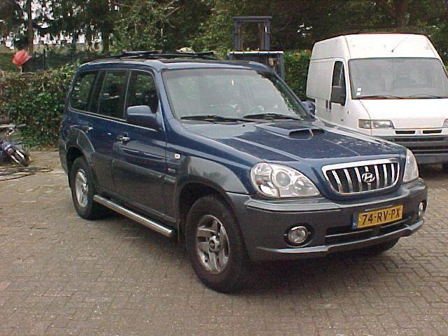 Hyundai Terracan occasion - Autobedrijf van Ophoven