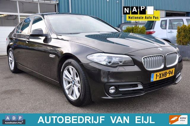BMW 5-serie 518d  BUSINES ED., FACE LIFT, GR. NAV, LEDER, N.A.P. !!