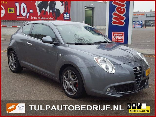 Alfa Romeo MiTo 1.3 JTDm ECO Distinctive bj 2013 Leder Navi Top staat