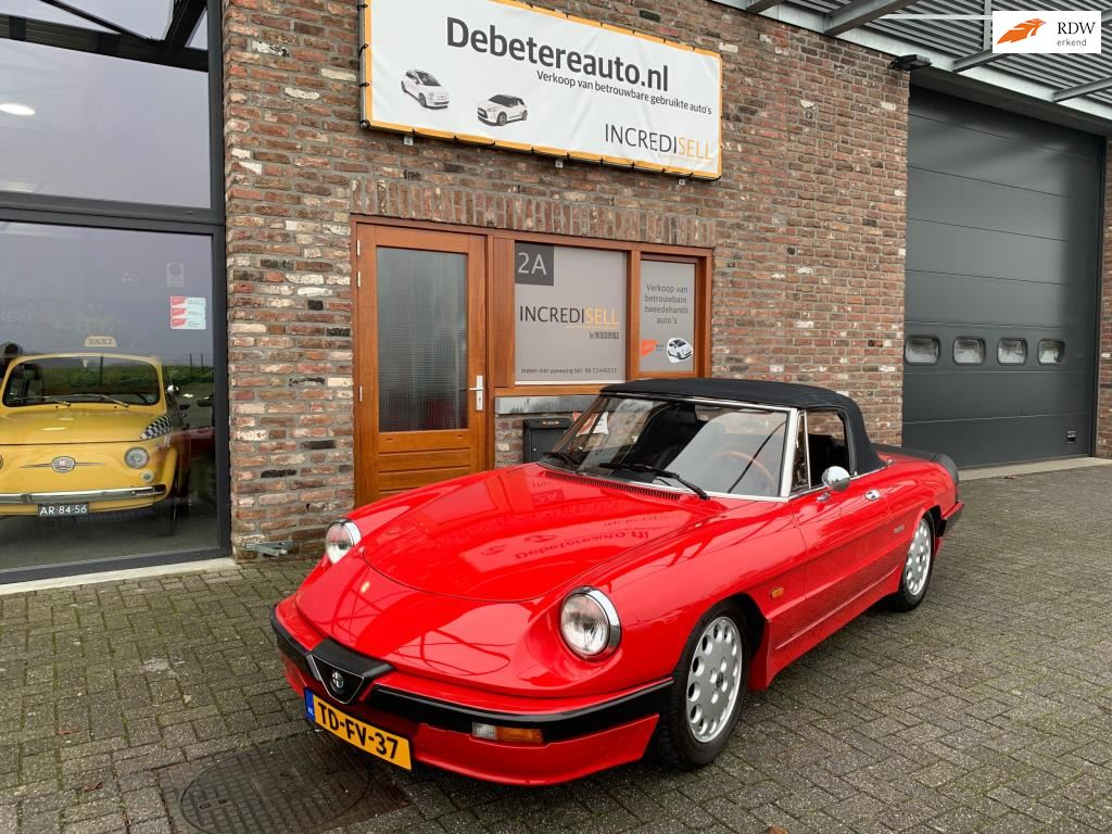 Alfa Romeo Spider occasion - Incredisell Occasions