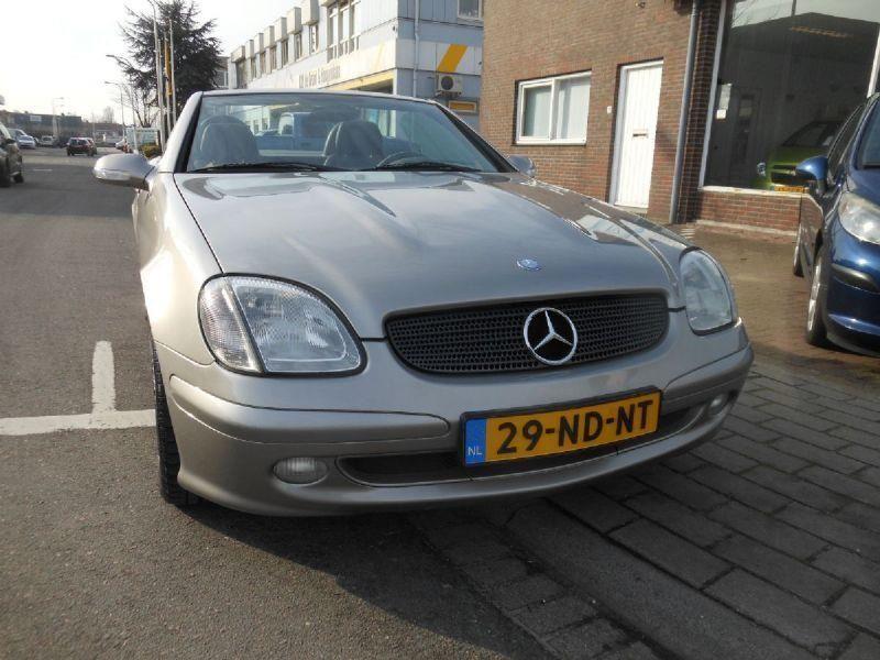 Mercedes-Benz SLK-klasse occasion - Automobielbedrijf Frans Zandstra