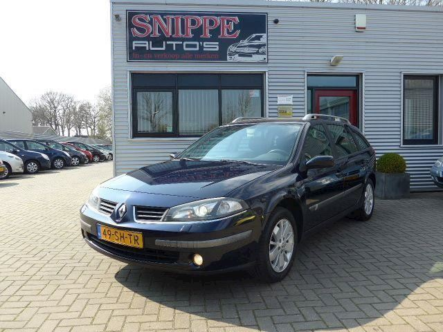 Renault Laguna grand tour 2.0-16V Dynamique -Xenon-Navi-Ecc-Cruise-Trekhaak-