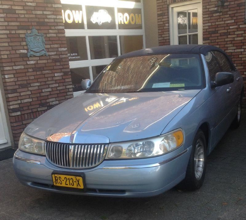 Lincoln Town car occasion - Wim Moonen auto's