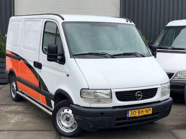 Opel Movano 2.2 DTi L1 H1 bj.2003 apk 7-2019
