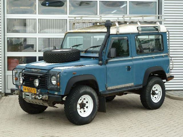 Land-Rover Defender 90 BJ.1985 LIER | IMPERIAL | TREKHAAK.