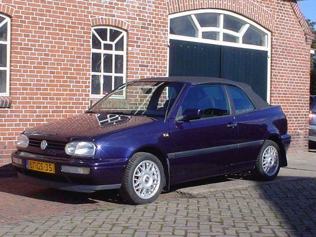 Volkswagen Golf 1.9 TDI MILESTONE CABRIOLET