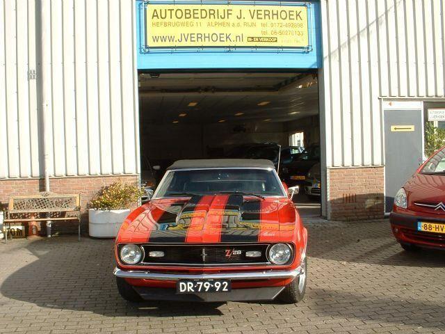 Chevrolet Camaro cabriolet occasion - Autobedrijf J.Verhoek