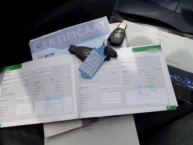 Mercedes-Benz SLK 200 kompressor automaat clima cotrol verkocht