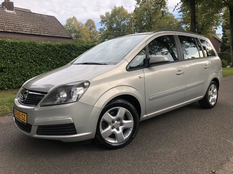 Opel Zafira 7 Persoons  occasion - F. Klomp Auto's