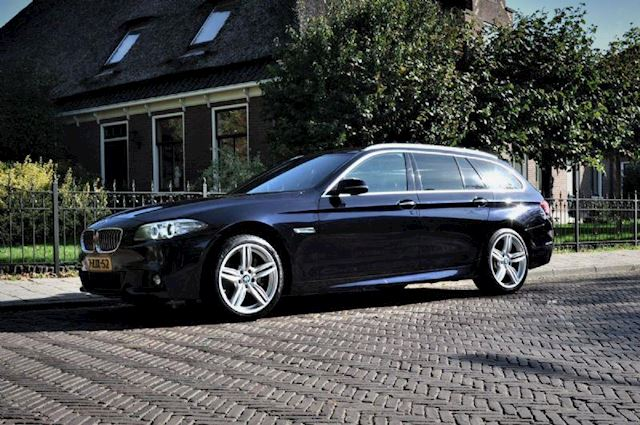 BMW 5-serie 535D X-Drive High Executive Carbon Zwart M-spr