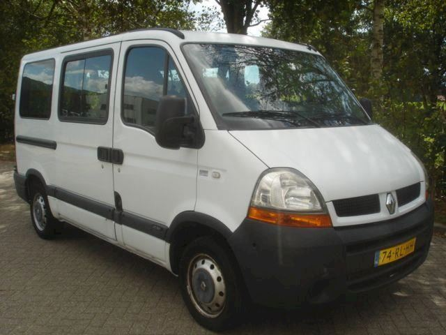 Renault Master Combi 2.2 DCI  AIRCO   9 PERS.