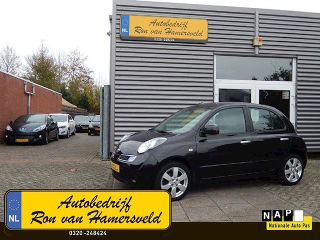 Nissan Micra MICRA 1.4 TEKNA 5 DRS-NAVI-AIRCO-NW STAAT!!