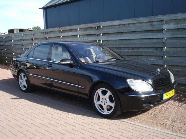 Mercedes-Benz S-klasse 500 Lang Aut. Bijtellingsvriendelijk