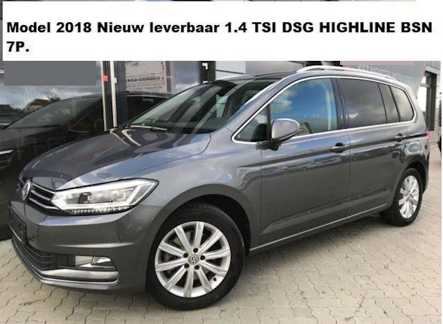 Volkswagen Touran 1.4 TSI DSG HIGHLINE BSN 7P. LED NAVI 2018 Touran 1.4 TSI Highline DSG Navi LED
