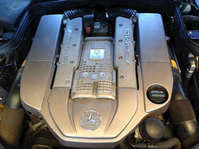 Mercedes-Benz E-klasse 55 AMG