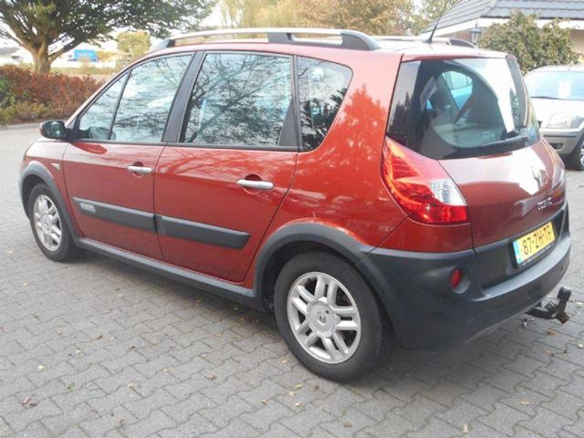 Renault Scenic Scénic 1.6-16V Tech Road gas/g3 bj 2008 clima