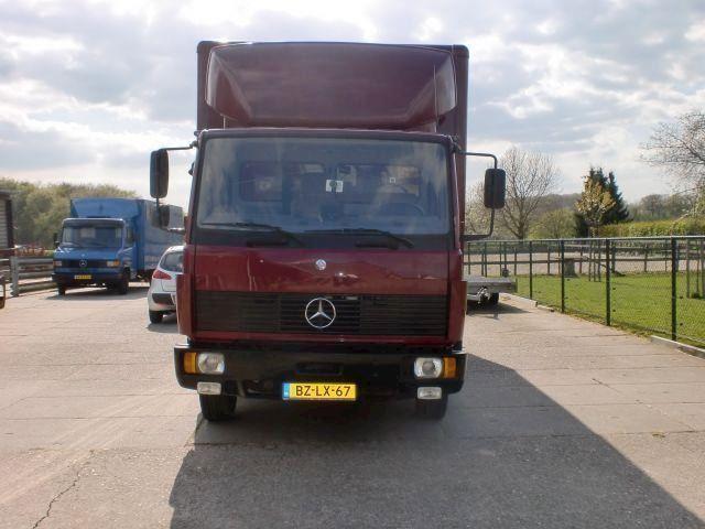 Mercedes-Benz 609 paardenvrachtwagen / paardenwagen/paarden vrachtwagen