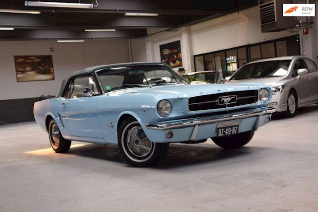 Ford USA Mustang *1965* Mustang Cabrio V8 Aut Airco Stuurbekrachtiging 1964,5