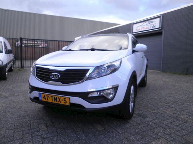 Kia Sportage 1.6 GDI X-ecutive Plus Pack Clima Cruise Camera Navi Leer Pano PDC *VOL OPTIES*