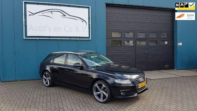 Audi A4 1.8 TFSI 2010 Clima Xenon Cruise Led verlichting 6-vers nw set 19 Zeer nette staat Incl nw Apk 10-2020