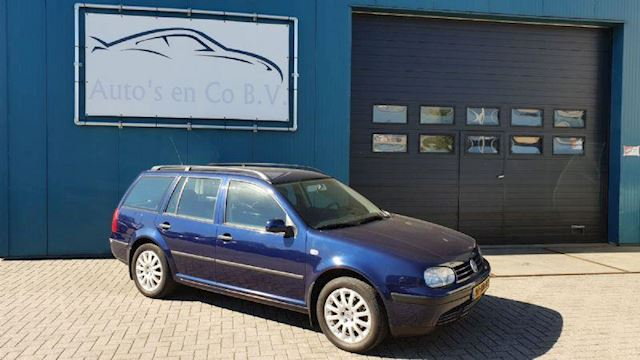 "Volkswagen Golf 1.6-16V Variant Climate control Cruise 16"" Trekhaak NL Auto NAP Apk 01-2020"