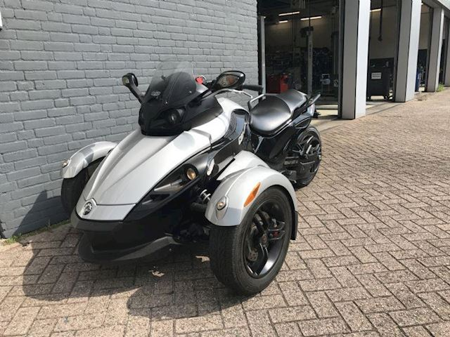 Can-Am Spyder RS SM5 sport uitlaat 9800 km