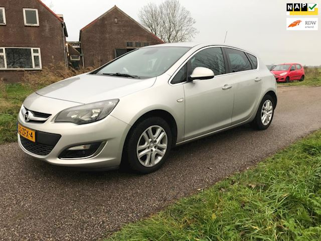 Opel Astra Sports Tourer 1.4 Turbo LPG Cosmo LPG G3 fabriek af Km-stand is NAP