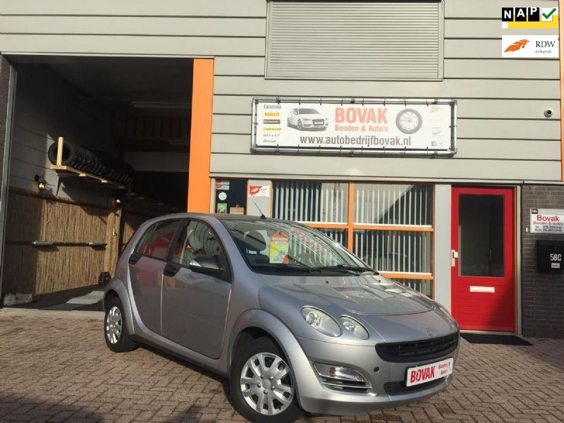 Smart Forfour occasion - Autobedrijf Bovak