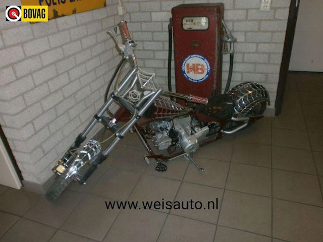 Motor Chopper 110 cc  spider copy