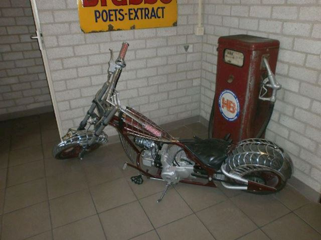 Motor Chopper 110 cc  spider copy occasion - Auto Weis