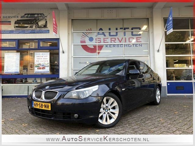BMW 5-serie 525d BUSINESS EXCLUSIVE CLIMA / LEER / FULL OPTION