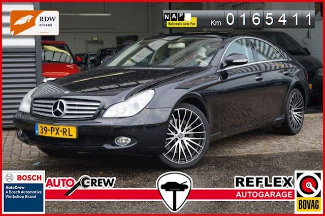 Mercedes-Benz CLS 350 NL-auto BEIGE LEDER/FULL OPTIONS!!!