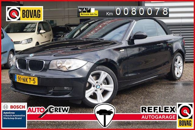 BMW 1-Serie 118i Executive CABRIO LEDER/AIRCO/6 BAK/DEALER OND