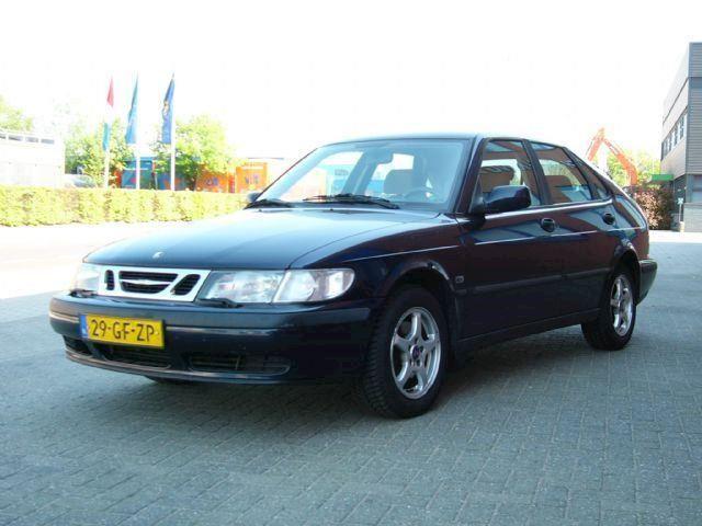 Saab 9-3 5-deurs 2.0 Turbo winterbanden