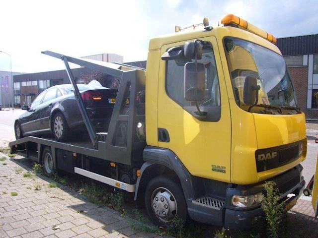Daf FA-LF 45 oprijwagen voor 2 auto`s
