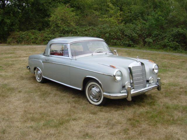 Mercedes-Benz 1958  220 S occasion - KennisCars.nl
