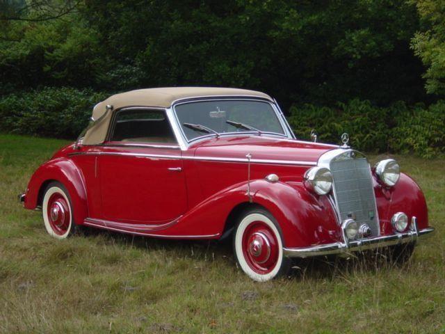 Mercedes-Benz 1951  170 SA occasion - KennisCars.nl