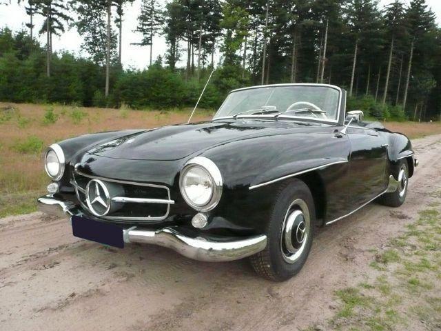 Mercedes-Benz 1960  190 SL occasion - KennisCars.nl