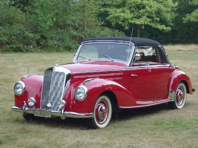 Mercedes-Benz 1954  220 A occasion - KennisCars.nl
