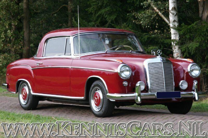 Mercedes-Benz 1958 220 S Ponton occasion - KennisCars.nl