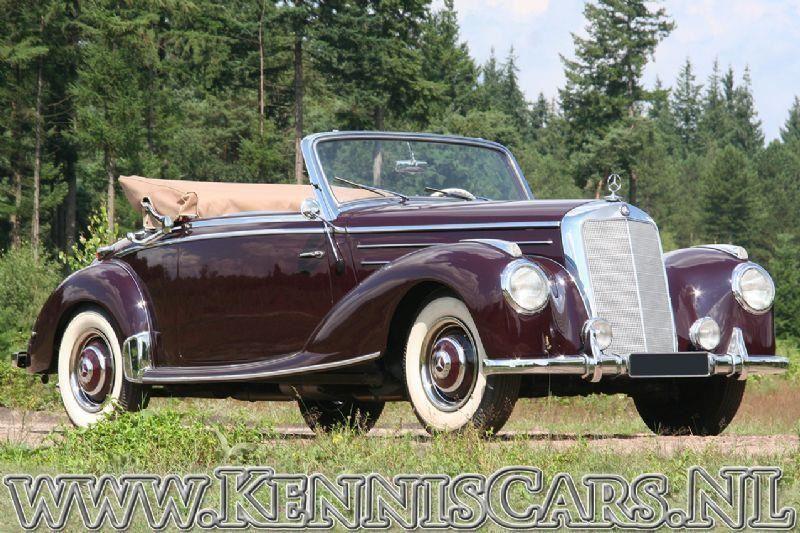 Mercedes-Benz 1953 220A  187-serie occasion - KennisCars.nl