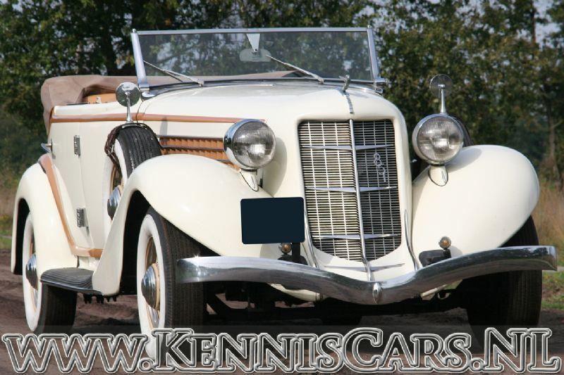 Auburn 1935 851 occasion - KennisCars.nl