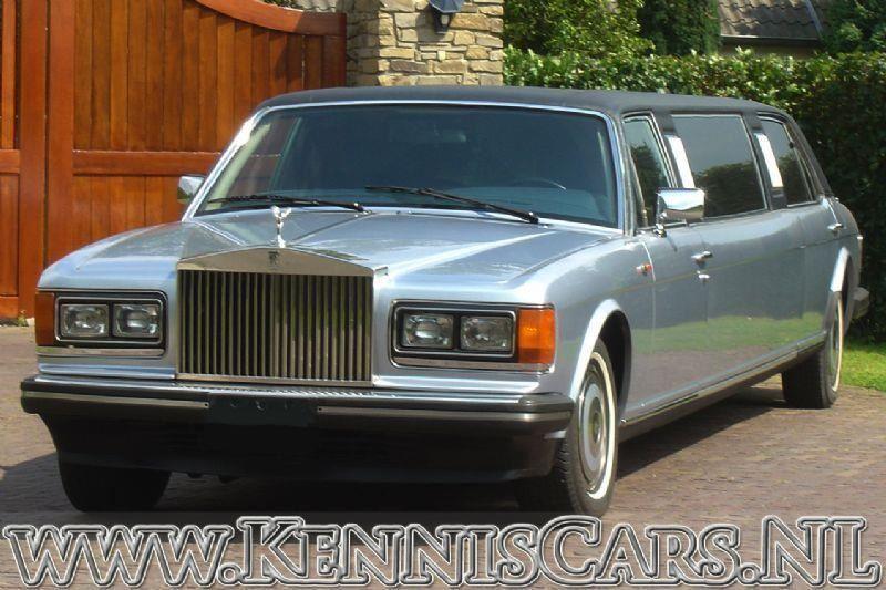 Rolls Royce 1983 Silver Spur LWB 8.05 meter occasion - KennisCars.nl