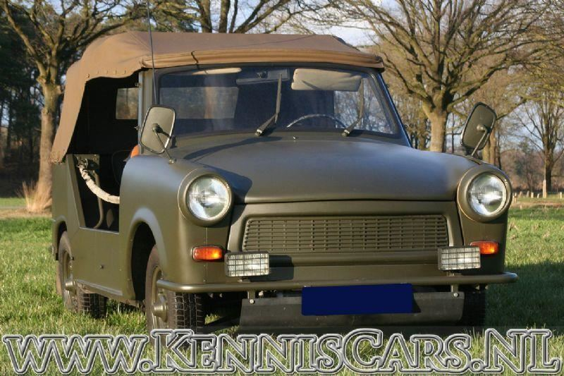 Trabant 1968 P601 Kubel occasion - KennisCars.nl