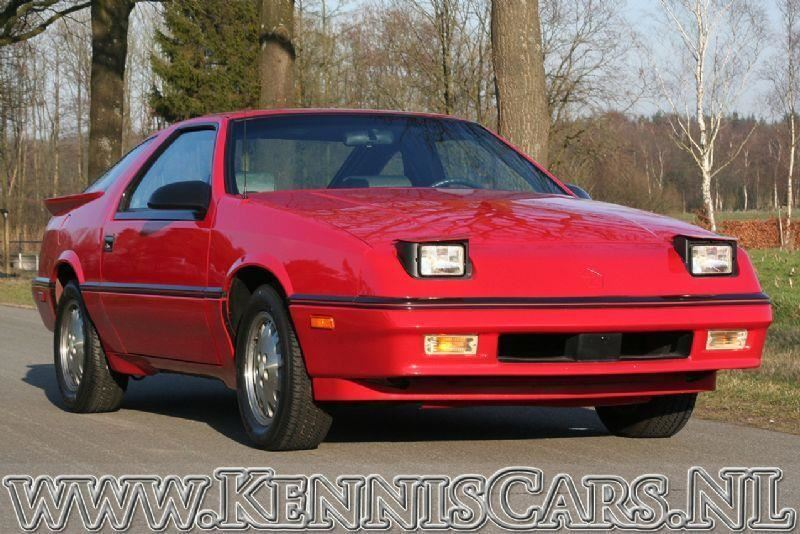Dodge 1987 Daytona Pacifica odometer read 22 miles occasion - KennisCars.nl