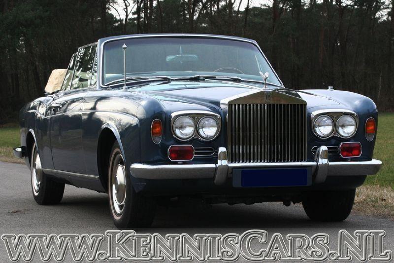 Rolls Royce 1971 Mulliner Park Ward Cornische occasion - KennisCars.nl