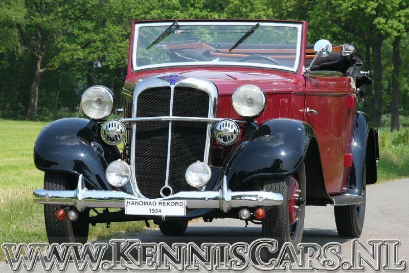 Hanomag 1934 Rekord Ambi Budd occasion - KennisCars.nl