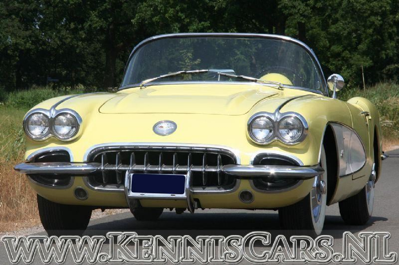Chevrolet Corvette 1958 occasion - KennisCars.nl