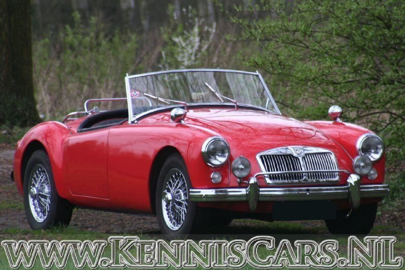 MG 1957 A Roadster occasion - KennisCars.nl