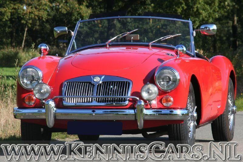 MG 1957 A Roadster 1800 Manual 5 speed occasion - KennisCars.nl